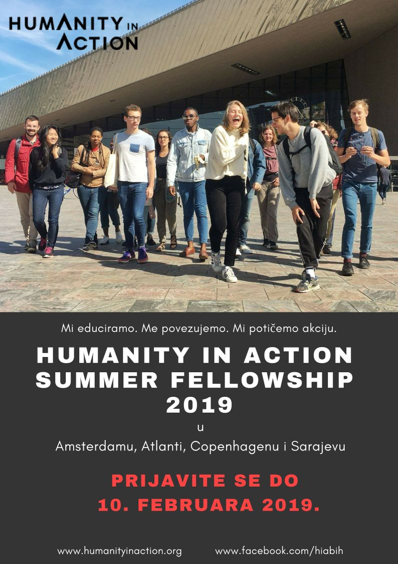 Summer fellowship poster